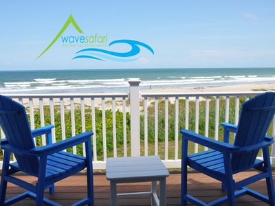 Photo for Luxury Townhouse Direct Oceanfront!  Sleeps 8 w/Jetted Tub & Electric Fire
