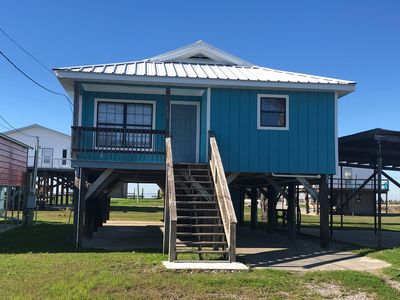 Seabreeze IV is a 3 bedroom/ 2 bath in Grand Isle