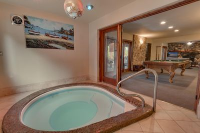 Indoor Hot Tub - Indoor Hot Tub