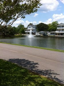 Photo for Lakefront home, rates include taxes,golf cart & departure cleaning!