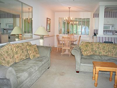 Photo for 1 Bedroom, 1 Bathroom, Full Kitchen, W/D, close to beach, 27 holes of golf available on site(1302M)