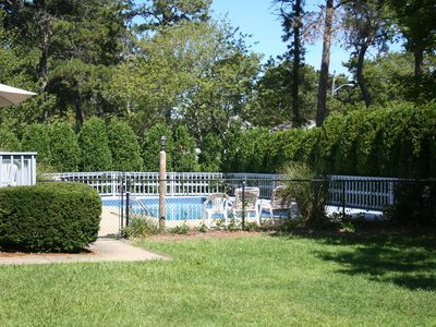 Photo for Cape Cod Beach House with Inground Pool and short walk to Ocean.
