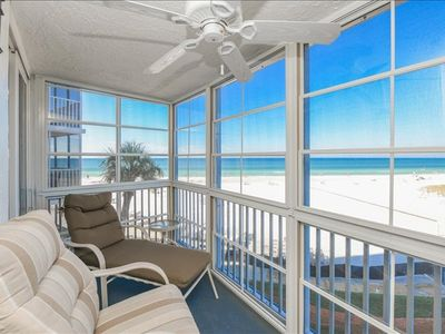 Photo for Treat yourself to a completely remodeled and updated 3rd floor 2-bedroom 2-bath ocean front condo.
