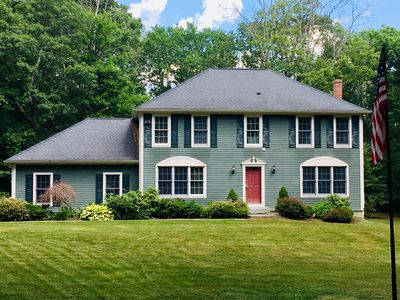 Photo for Beautiful Colonial Home in a Peaceful Setting Bordering Natchaug State Forest