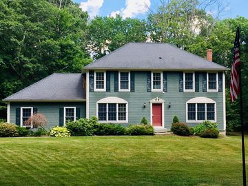 Magnificent Beautiful Colonial Home In A Peaceful Setting Bordering Natchaug State Forest Download Free Architecture Designs Scobabritishbridgeorg