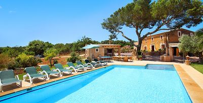 Photo for 6 bedroom Villa, sleeps 12 in Santanyí with Pool, Air Con and WiFi