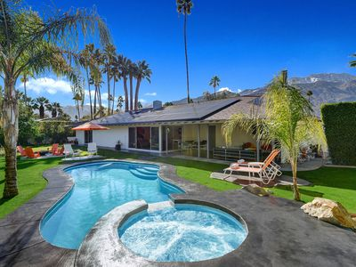 Photo for Mid-century home in central Palm Springs with Pool and Spa