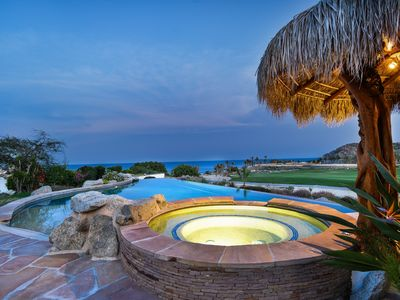 Photo for AMAZING 6 BEDROOM LUXURY VILLA  OCEAN SIDE CABO DEL SOL!