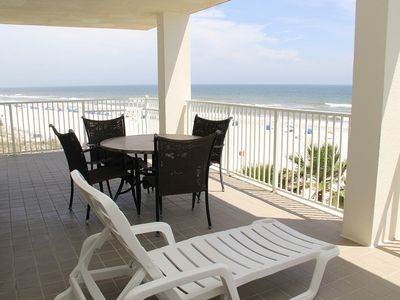 Photo for ALL SPRING RATES REDUCED BY 20%. BOOK FAST.WP 401  Gorgeous 3BD/2BA Condo with a fantastic Gulf view of the beach with lots of amenities.  Come relax!  Quote comes with one parking pass.
