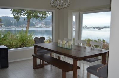 View from Picture Windows in Kitchen
