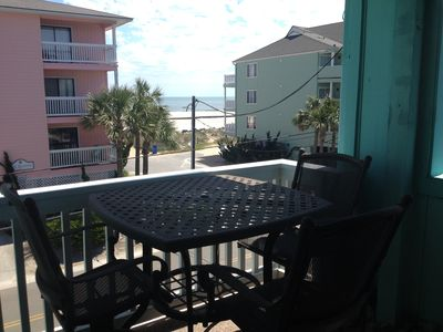 Photo for Fantastic 2nd Row One Bedroom with Amazing Ocean Views Unit #B9