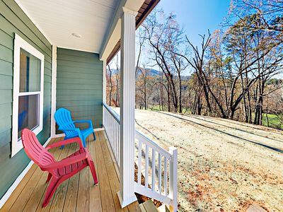 Outdoor Area - Take in views of the mountains on the front porch.