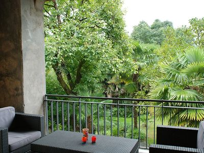 Photo for House 441 m from the center of Monteggio with Internet, Parking, Terrace, Garden (259693)