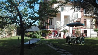 Photo for Comfortable independent apartment, in the countryside, just minutes from the sea