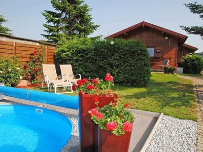 Photo for SCHW 1012 - House 2 (wood) - Holiday homes with pool Kummerow SCHW 1010
