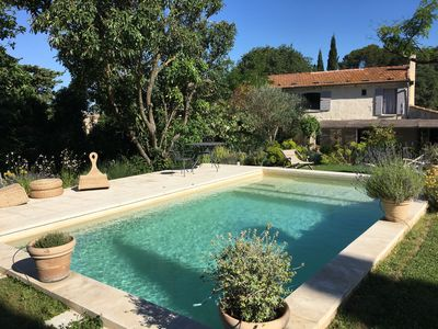 Photo for Beautiful Provencal Mas, Contemporary Style, Private Pool, Fontvieille