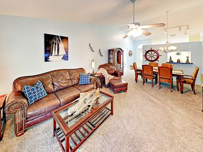 Photo for Minutes to Honeymoon Island State Park! 3BR w/ Sunroom, Yard & Pool