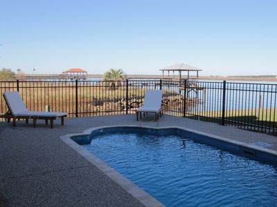 Waterfront Bayhouse With Pool