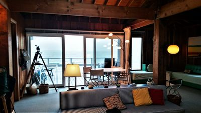 Photo for Cottage right on the Beach of Lake Michigan- gentle hill to the water's edge