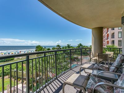 Large Oceanfront Five Bedroom Condo - Available by Luxury Beach Rentals