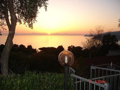 Photo for UNFORGETTABLE SUNSET SUNSET VIEW RELAXATION WIFI FREE EXCELLENT LOCATION
