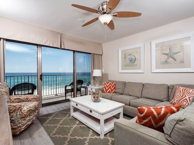 Photo for Gulf Front Condo! Sleeps 6, Fun Amenities, Nearby Shopping and Dinning!