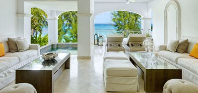 Photo for Old Trees 6 - Firefly  -  Beach Front - Located in  Exquisite Saint James with Private Pool