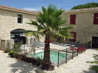 Photo for Mas renovated from 12 to 26 people near Camargue between Nîmes and Montpellier