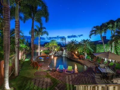Photo for PRIVATE HOME OASIS-SOUTH MAUI-3 BEDROOM-OCEAN VIEWS-POOL WITH HOT TUB