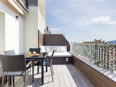 Photo for BARCELONA | LUMINOUS APT WITH PRIVATE TERRACE¦