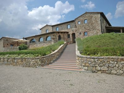 Photo for 2BR Apartment Vacation Rental in Castellina in Chianti, Toscana