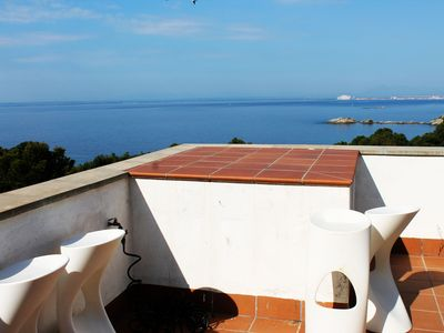 Photo for Magnificent beach villa luxury with jacuzzi and wifi
