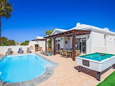 Photo for Villa Fabiana - This spacious villa includes a private pool, WI-FI & A/C
