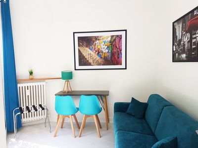 Photo for HostnFly apartments - Bright appartment near the Eiffel Tower