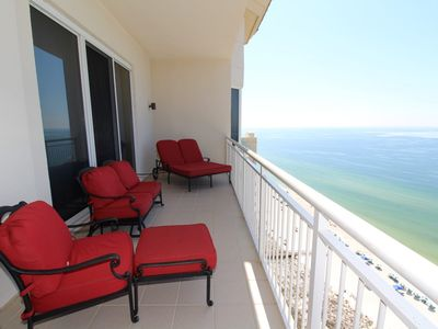 Photo for Indigo East 2102- Penthouse with Private Poolside Cabana