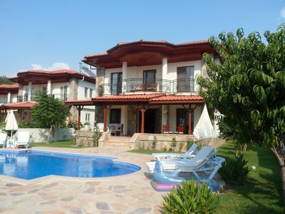 Photo for Villa Cennet in Dalyan with mountainous backdrop