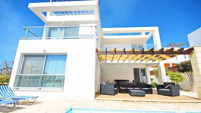 Photo for Villa Ana - Coral Bay. Modern Luxury Villa With 3 Bedrooms and 3 Bathrooms.