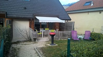 Photo for Duplex 3 bedrooms Annecy Baby Garden Barbecue