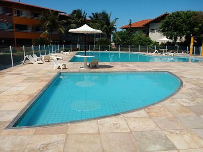 Photo for Great apartment in the Cartier beach of the future 2 Bedrooms, with pool