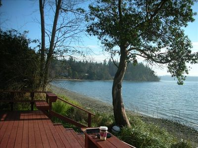 Photo for The Beach Cabin on Northeast Geoduck Cove Lane