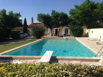 Photo for MAS with swimming pool 5 minutes from Saint Remy de Provence