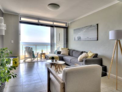 Photo for Portico 802 Luxury beach front apartment with stunning views!