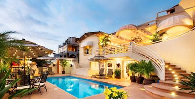 Photo for Casa Tabachin-8 bed villa, short walk to Malecon and Zona Romantica, pool, rooftop deck