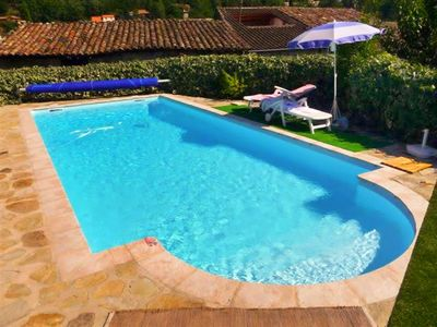 Photo for Homerez last minute deal - Nice house with swimming-pool