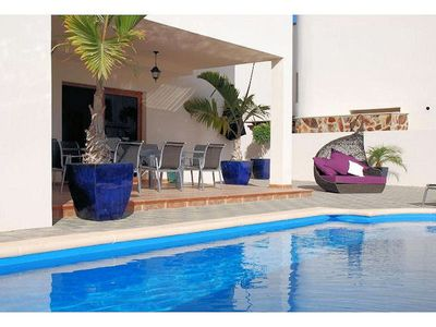 Photo for We have a selection of villas in the Las Caletas area of Costa Teguise. The villas have 3, 4 or 5 be