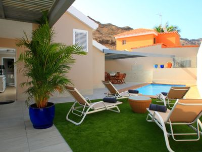 Photo for Relaxing, Quiet, Modern Style top quality Villa in Tauro, near Puerto Rico