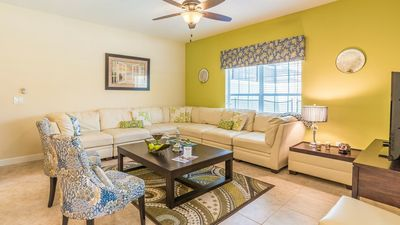 Photo for Budget Getaway - Paradise Palms Resort - Beautiful Contemporary 5 Beds 4 Baths Townhome - 4 Miles To Disney