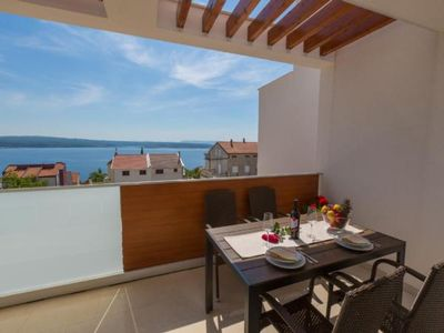 Photo for Holiday apartment Dramalj for 4 - 6 persons with 2 bedrooms - Holiday apartment in a villa