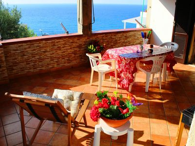 Photo for Eleonora Apartments With Sea View in the Center of Tropea