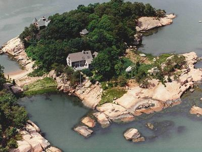 Photo for THIMBLE ISLAND HOME on a PRIVATE ISLAND